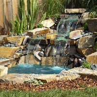 Pond and Waterfall in a Box® Three Rivers Stone® Flagstone or Bluestone