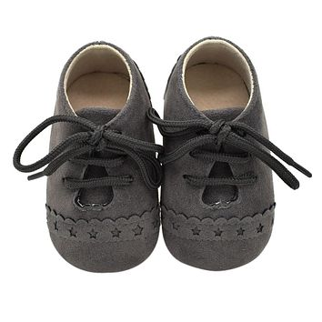 Baby Shoes Nu buck Leather Moccasins Soft Footwear Shoes For Baby Girls Kids borns Boys Sneakers First Walker