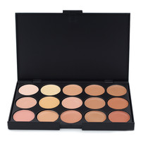 UCANBE Brand 3 different colors Professional 15 Color Camouflage Facial Concealer Palettes Neutral Makeup Cosmetic
