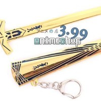 Golden Avalon Excalibur and Scabbard Inspired By Fate Stay Night