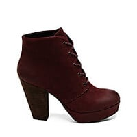 Platform Booties and Ankle Boots | Steve Madden Raspy
