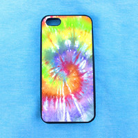 Artsy Abstract Hipster Tie Dye iPhone Case, iPhone 4 4S 5 5S 6 Case