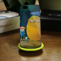 adventure time love totoro   for iPhone 4 / by BEAUTIFULCASESTORE