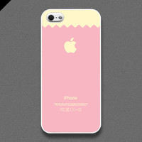 iPhone 5 Case  Pink macaroon  also available in iPhone by evoncase