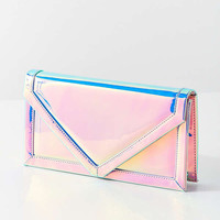 Oversized Metallic Envelope Clutch | Urban Outfitters