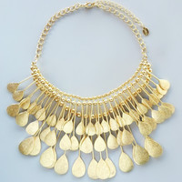 Golden Nefertiti Necklace