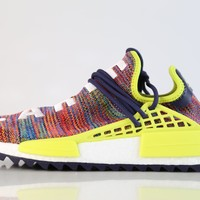 BC DCCK Adidas X PW Pharrell Williams NMD Human Race Multicolor Noble Ink Yellow AC7360 (NO Codes)