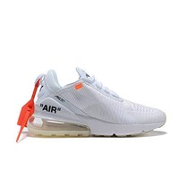 Nike x OFF-WHITE Air Max 270 Running Shoes