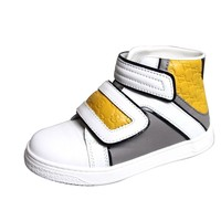 Gucci Kids Unisex Leather High-top Coda Pop Sneakers 301353 301354