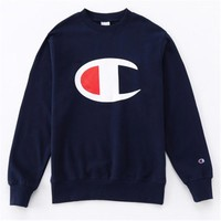 PEAP1 High Quality Champion Embroidery Loose Pullover Hoodies Sweater