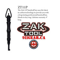 911Gear.ca | Zak Tools ZT11P Black Carbon Fiber Handcuff Key