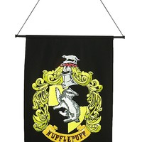 Harry Potter Hufflepuff Wall Banner