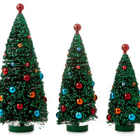 Christmas Tree Ornaments, Asst. of 3