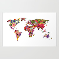 It's Your World Art Print by Bianca Green