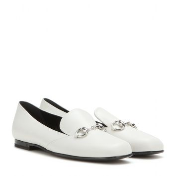 Twiggy leather loafers