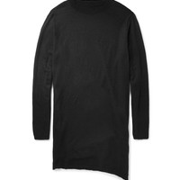 Rick Owens - Oversized Boiled Cashmere Sweater | MR PORTER