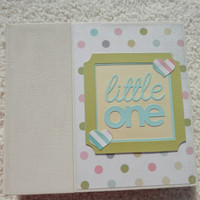 6x6 Baby Scrapbook Photo Album