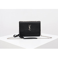 YSL Women's Tote Bag Handbag Shopping Leather Tote Crossbody Satchel