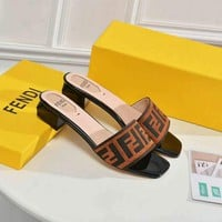 Fendi Women slippers shoes sandals