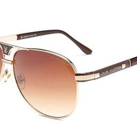 LV Louis Vuitton 2018 trendy trendy elegant men and women sunglasses F-ANMYJ-BCYJ NO.1