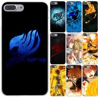 Lavaza Anime Manga Fairy Tail Hard Phone Case for Apple iPhone X 10 8 7 6 6s Plus 5 5S SE 5C 4 4S Cover Coque Shell