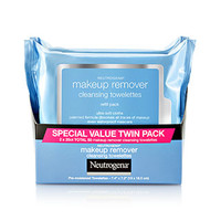 Makeup Remover Cleansing Towelettes - Special Value Twin Pack | NEUTROGENA®