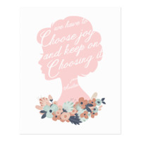We Have to Choose Joy art print