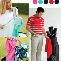 Monogram Golf Towels | Personalized Golf Towels | Father's Day Gift | Mother's Day Gift | Embroidered Golf Towel | Personalized Golf Items