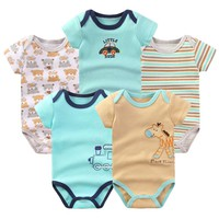 Good Quality New Style Baby Bodysuits Short Sleeve Newborn Baby Boy Gilr Clothes Unisex Creeper Baby Clothing Jumpsuits