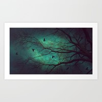 Where Dusk Meets Dawn II Art Print by Soaring Anchor Designs