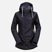 Volcom Womens Bolt Insulated Jacket 14-15 (Black) Snow Snow Jackets Womens Jackets at 7TWENTY Boardshop, Inc