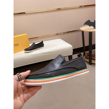 FENDI 2021Men Fashion Boots fashionable Casual leather Breathable Sneakers Running Shoes09090em