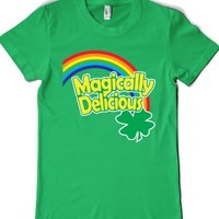 Magically Delicious-Female Grass T-Shirt