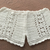 2016 Unique Limited Handmade Knitting Crochet Shorts Bikini for Womens Summer Gift-55