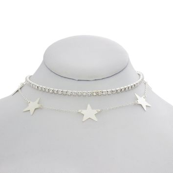 Disco Multi Star Choker