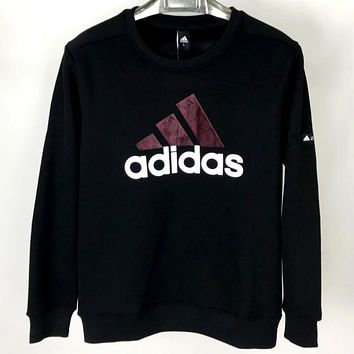 A ADIDAS 2019 new wild casual round neck pullover sweater