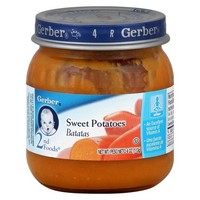 Gerber 2nd Foods - Sweet Potatoes 4 oz