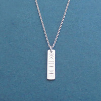 Playlists, Silver, Necklace, Music lover's, Necklace, Birthday, Best friends, Sister, Gift, Jewelry