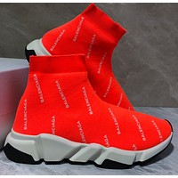 Balenciaga Speed stretch-knit Mid sneakers