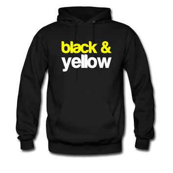 Black and Yellow Wiz Khalifa Design 6 hoodie sweatshirt tshirt