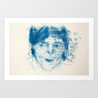Another Man Art Print by Alayna H.