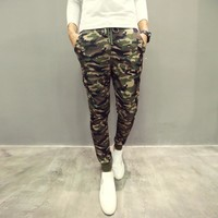 Camouflage Casual Pants [6539651779]