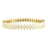 House of Harlow 1960 Jewelry Reflector Stack Bangle