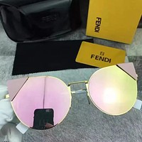 Fendi Woman Fashion Summer Sun Shades Eyeglasses Glasses Sunglasses