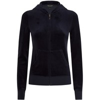 Juicy Couture Sequin Back Velour Hoody| Harrods
