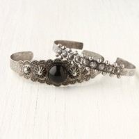 Free People Stone Cuff Double Set