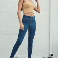 PacSun Cameron Blue Super High Rise Jeggings at PacSun.com