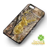 deer head camo browning-Nay for iPhone 6S case, iPhone 5s case, iPhone 6 case, iPhone 4S, Samsung S6 Edge