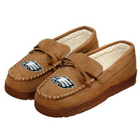 Philadelphia Eagles Official NFL Mens Moccasin Slippers
