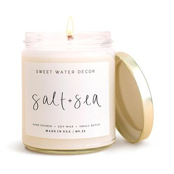 Salt and Sea Soy Candle